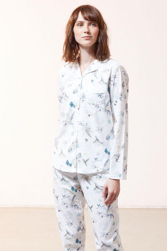 biały Etam - Koszula piżamowa RICK