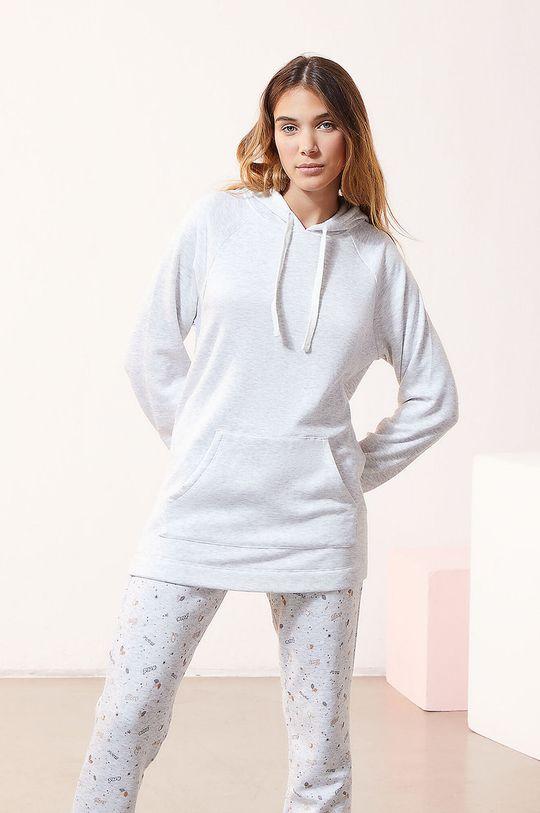 jasny szary Etam - Bluza piżamowa OSIRIS Damski