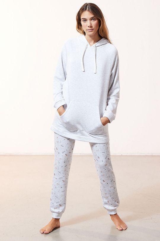 Etam - Bluza piżamowa OSIRIS jasny szary