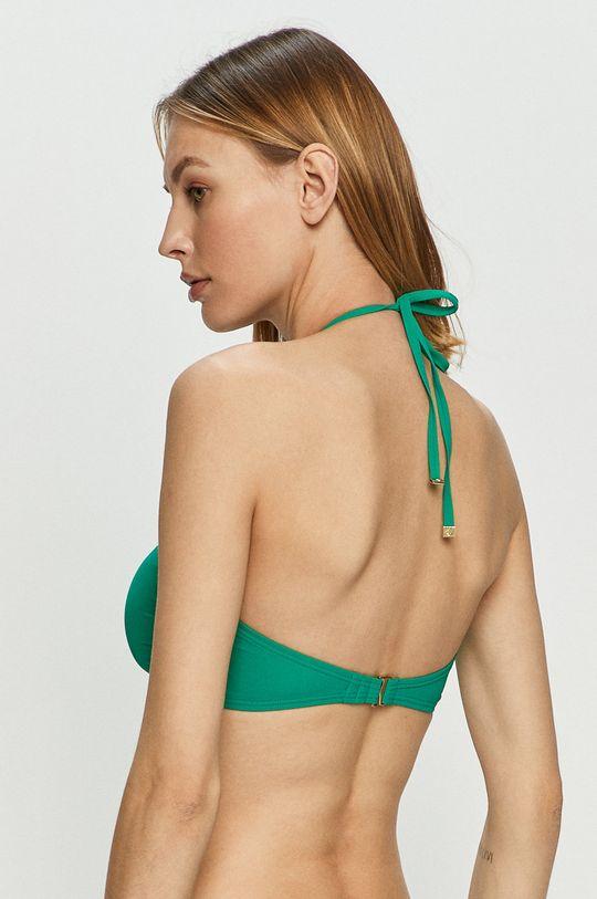 Kate Spade - Biustonosz kąpielowy żółto - zielony