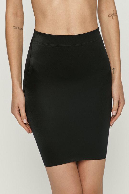 čierna Spanx - Tvarujúca sukňa No-slip Dámsky