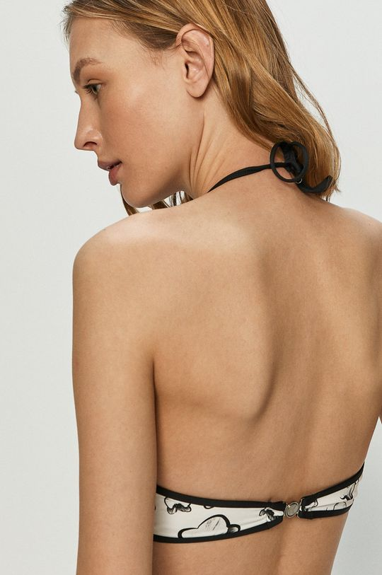 Karl Lagerfeld - Plavková podprsenka biela