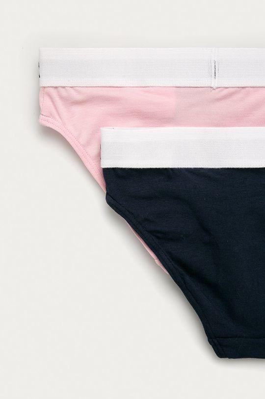 Calvin Klein Underwear - Dětské kalhotky (2-pack) růžová