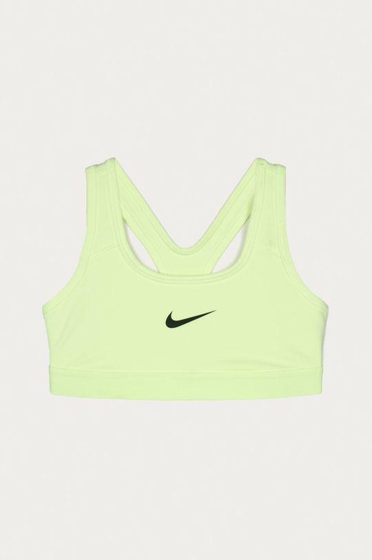 galben – verde Nike Kids - Sutien sport fete 128-166 cm De fete