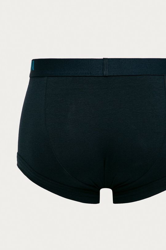 Emporio Armani - Boxeri (3-pack)  Materialul de baza: 95% Bumbac, 5% Elastan Banda elastica: 16% Elastan, 84% Poliester