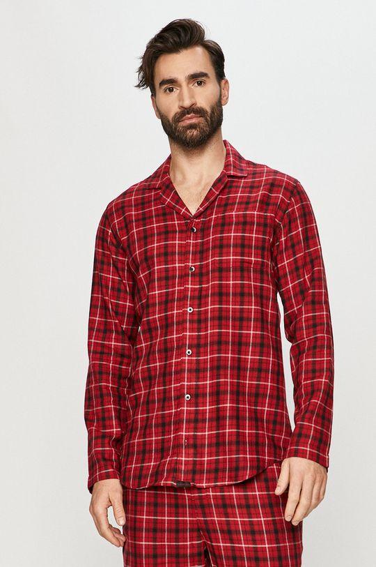czerwony Calvin Klein Underwear - Koszula piżamowa Męski
