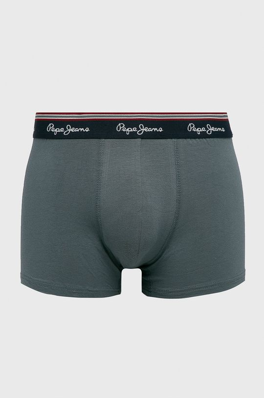 Pepe Jeans - Bokserki Theon (3-pack) szary