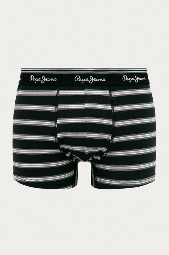 Pepe Jeans - Boxerky Theon (3-pack) černá