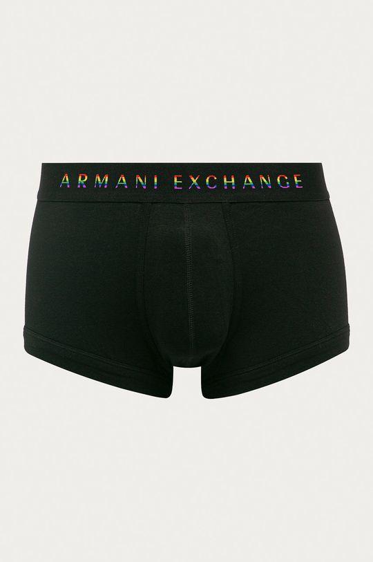 čierna Armani Exchange - Boxerky Pánsky