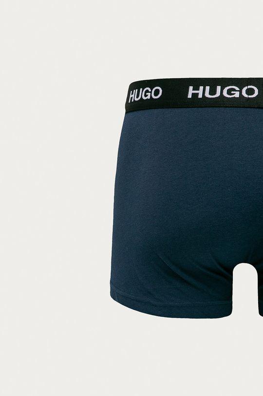 Hugo - Boxerky (3-pak) tmavomodrá
