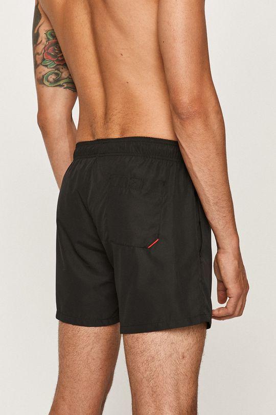 Hugo - Plavkové šortky čierna