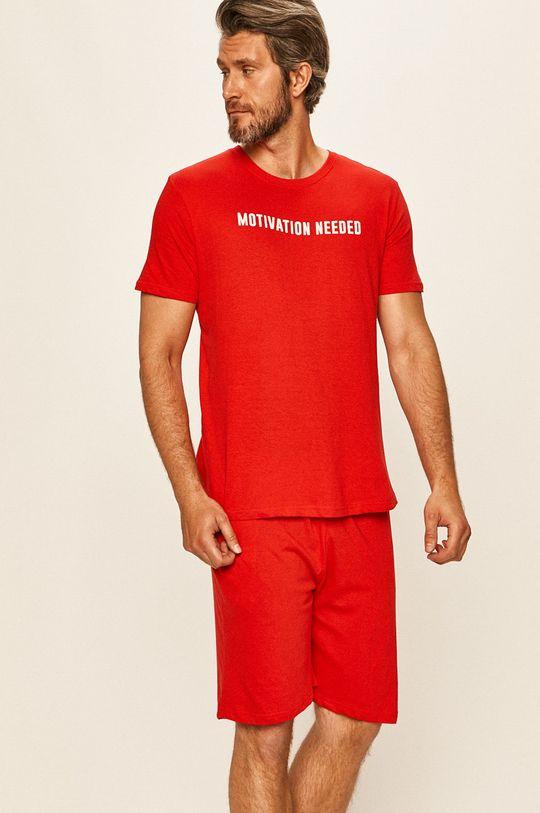 Brave Soul - Pyžamo červená