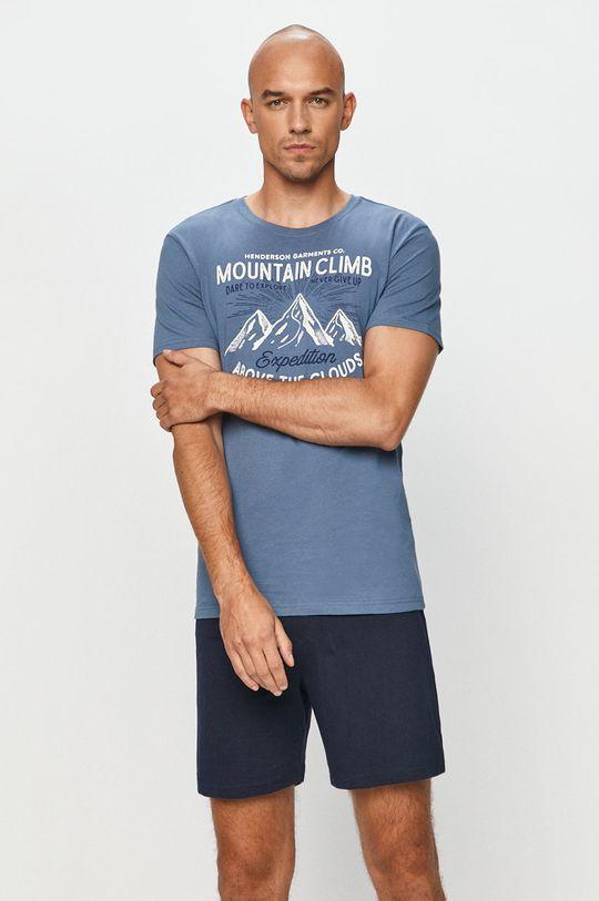 ocelová modrá Henderson - Pyžamo Pánský