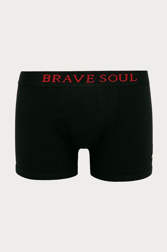 czarny Brave Soul - Bokserki (3-pack)