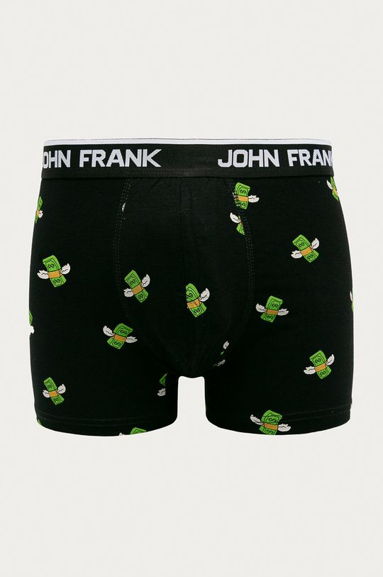 viacfarebná John Frank - Boxerky Pánsky