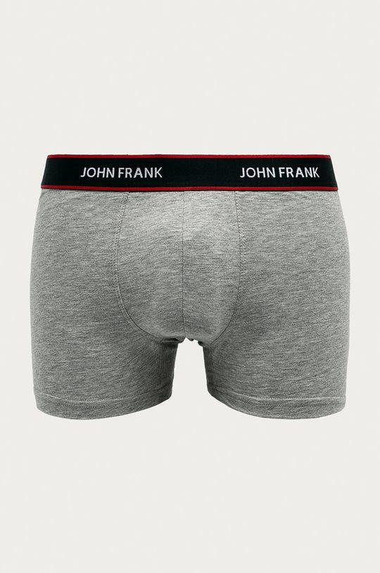 vícebarevná John Frank - Boxerky (3-pack)