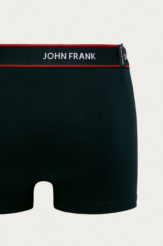 John Frank - Bokserki (3-pack) Materiał 1: 95 % Bawełna, 5 % Elastan, Materiał 2: 50 % Bawełna, 5 % Elastan, 45 % Poliester
