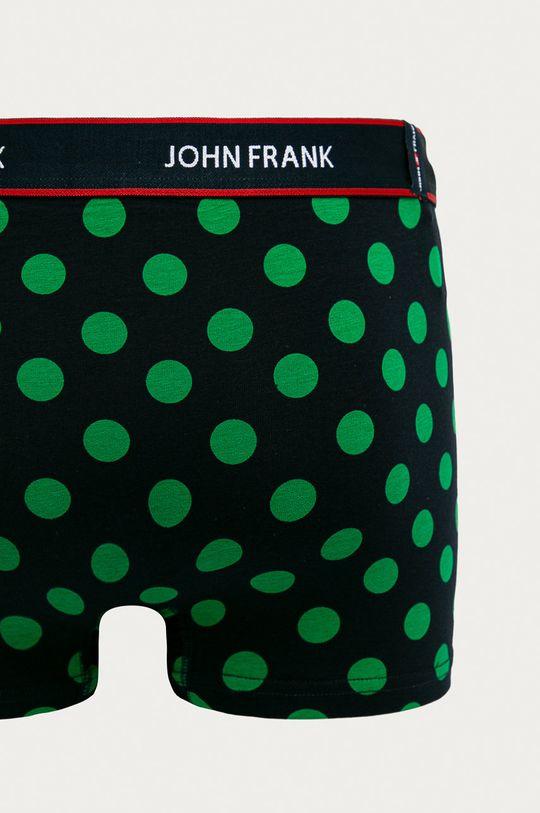 John Frank - Boxerky (3-pack)  95% Bavlna, 5% Elastan