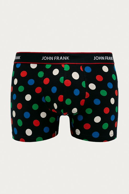 John Frank - Bokserki (3-pack) 95 % Bawełna, 5 % Elastan