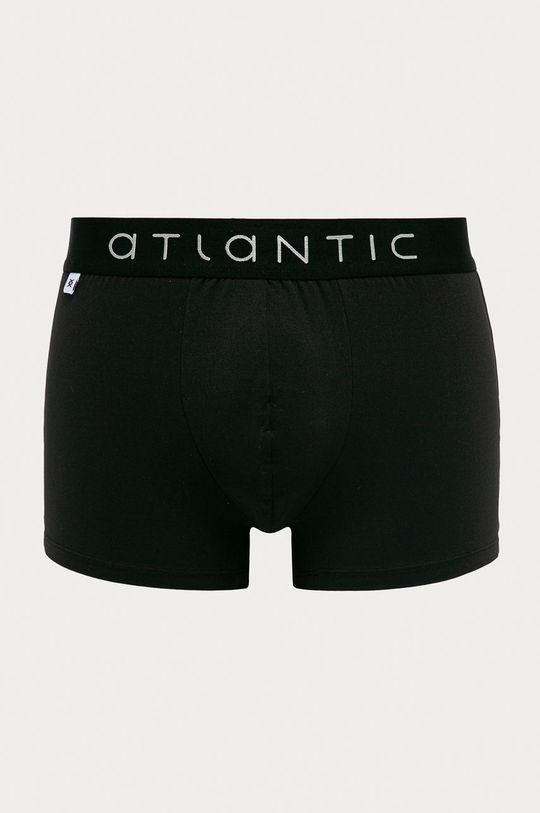 černá Atlantic - Boxerky Pánský