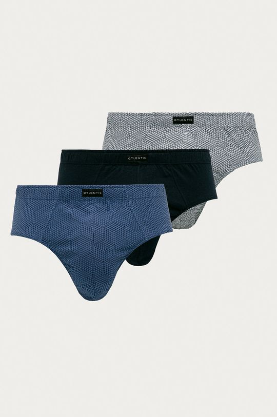 vícebarevná Atlantic - Spodní prádlo (3-pack) Pánský