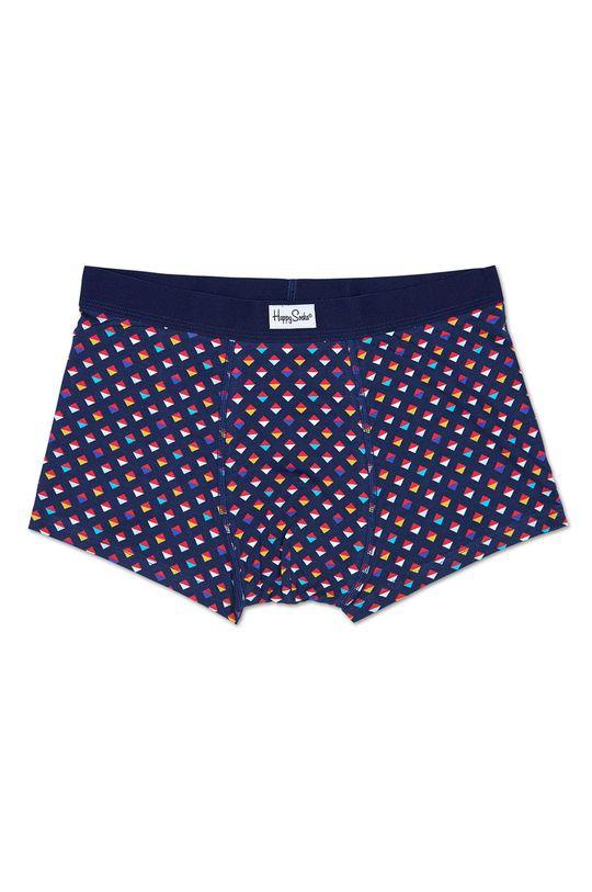 námořnická modř Happy Socks - Boxerky Mini Diamond Pánský