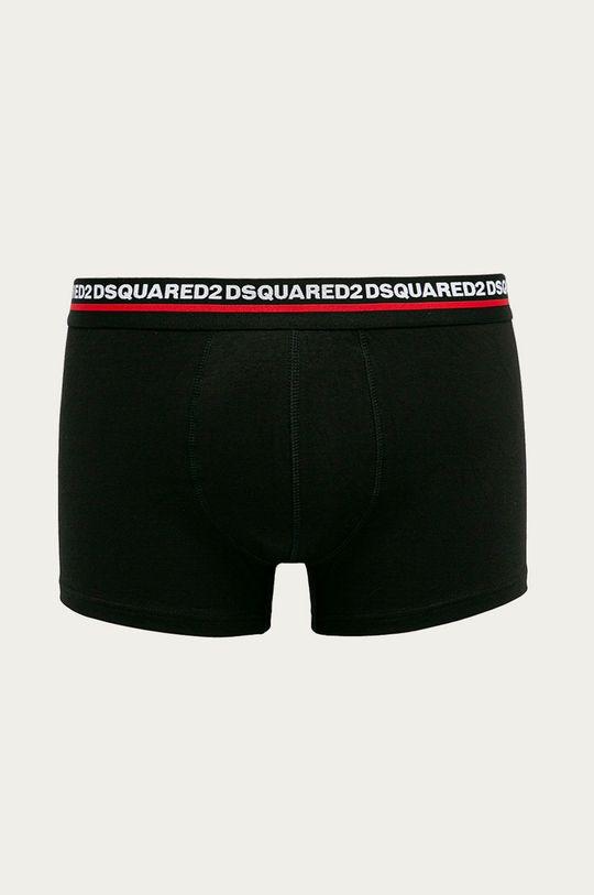 czarny DSQUARED2 - Bokserki (2-pack) Męski