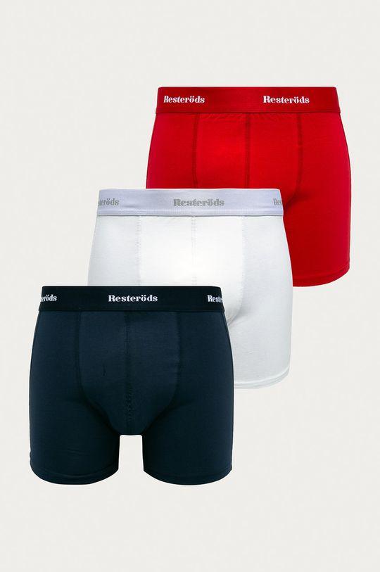vícebarevná Resteröds - Boxerky (3-pack) Pánský