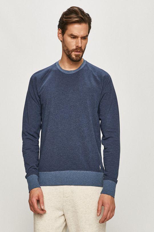 modrá Polo Ralph Lauren - Pyžamové tričko s dlouhým rukávem Pánský