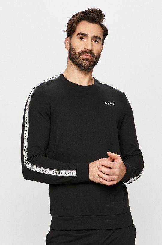 czarny Dkny - Longsleeve piżamowy Męski