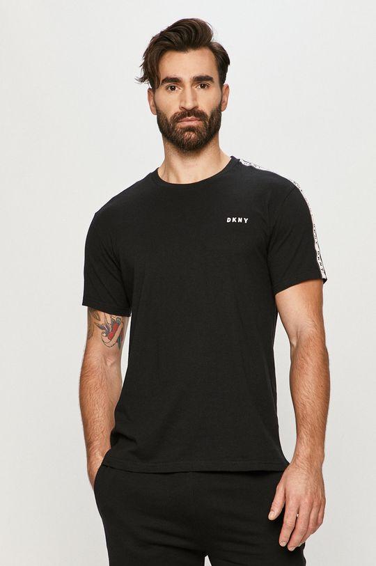 černá Dkny - Pyžamové tričko Pánský
