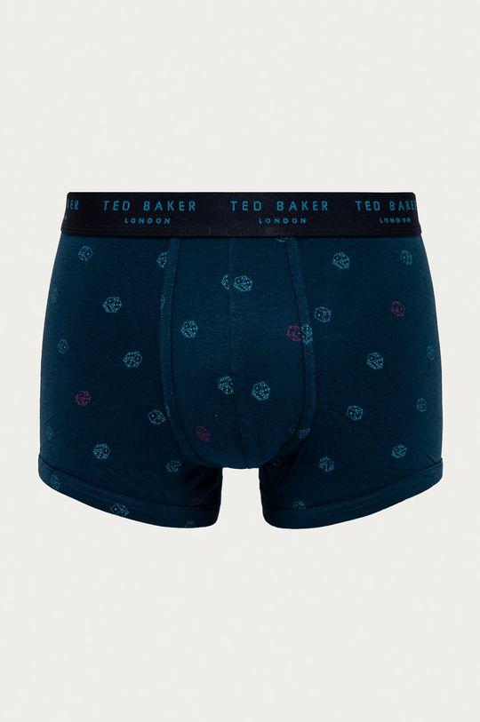 Ted Baker - Bokserki (3-pack) niebieski