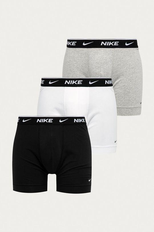 bílá Nike - Boxerky (3-pack) Pánský