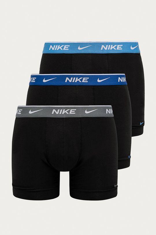 černá Nike - Boxerky (3-pack) Pánský