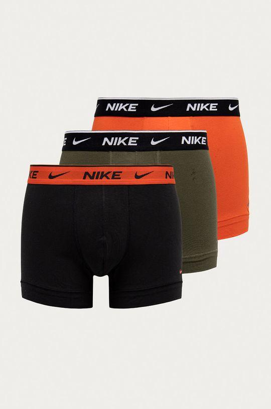 oranžová Nike - Boxerky (3-pak) Pánsky