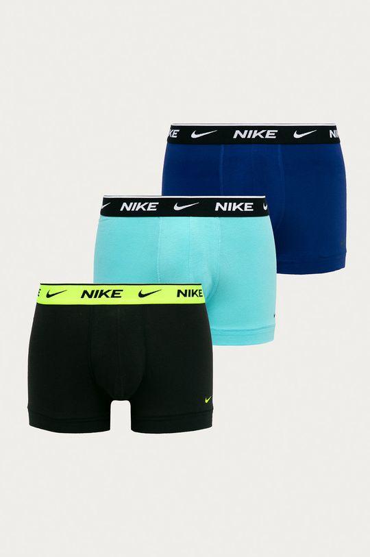 turkusowy Nike - Bokserki (3-pack) Męski
