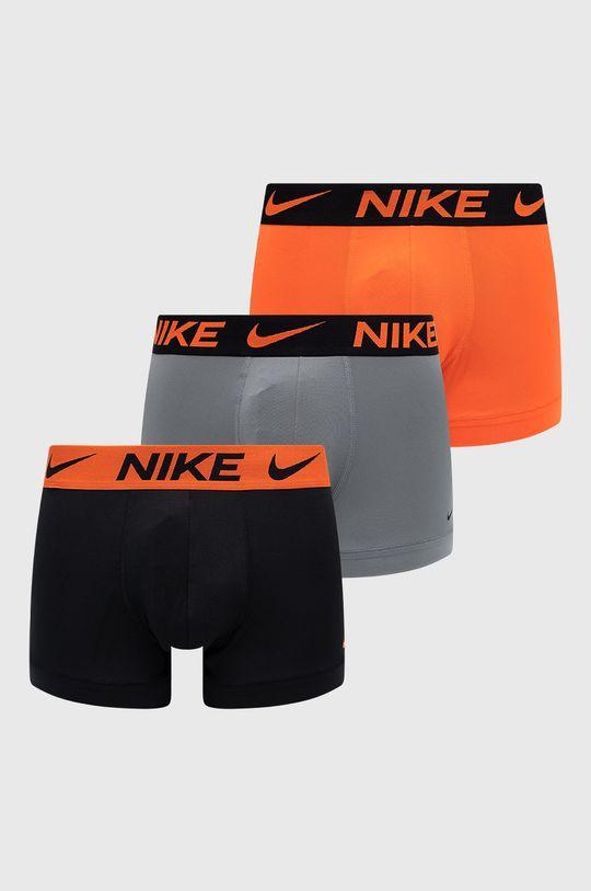 pomarańczowy Nike - Bokserki (3-pack) Męski