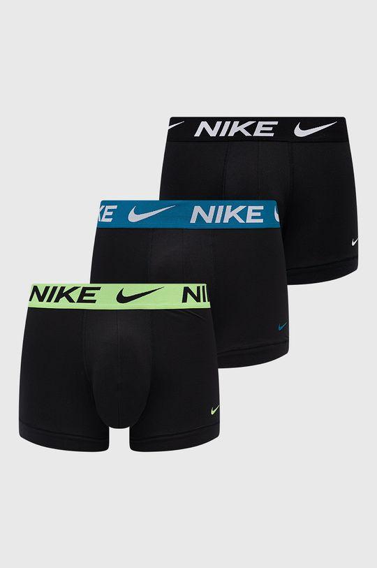 čierna Nike - Boxerky (3-pak) Pánsky