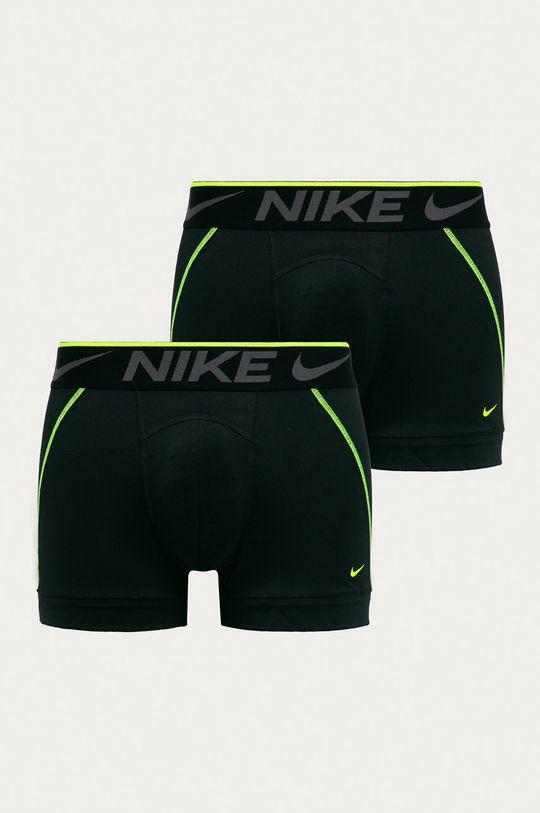 čierna Nike - Boxerky (2-pak) Pánsky