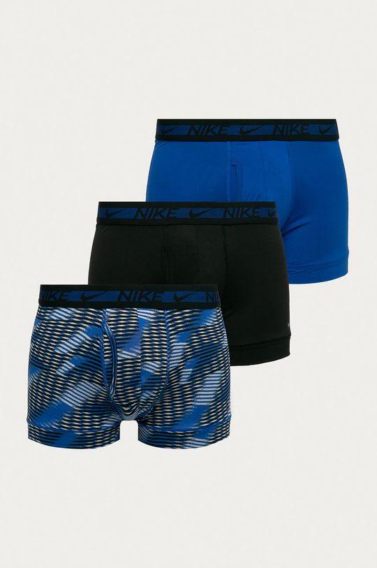 niebieski Nike - Bokserki (3-pack) Męski