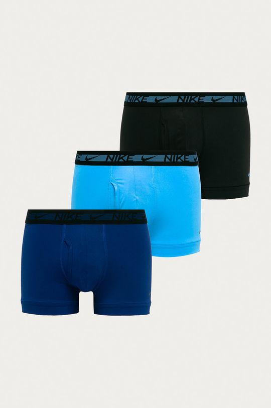 modrá Nike - Boxerky (3-pak) Pánsky