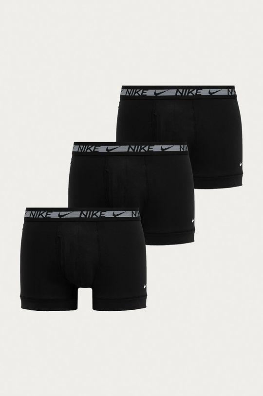 czarny Nike - Bokserki (3-pack) Męski