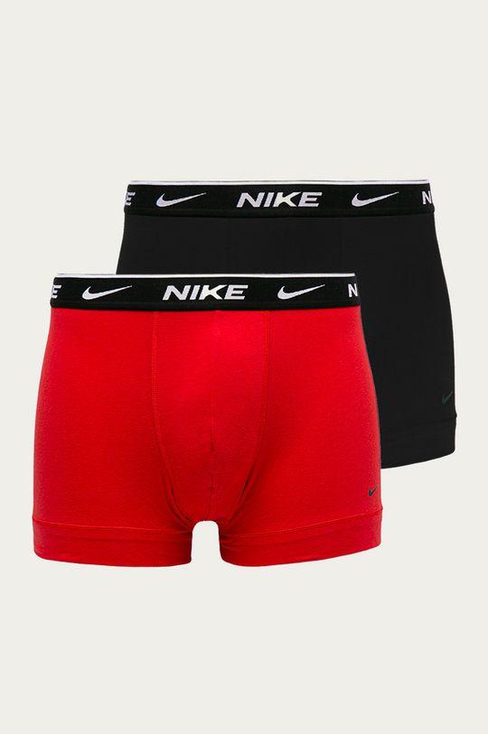czerwony Nike - Bokserki (2-pack) Męski