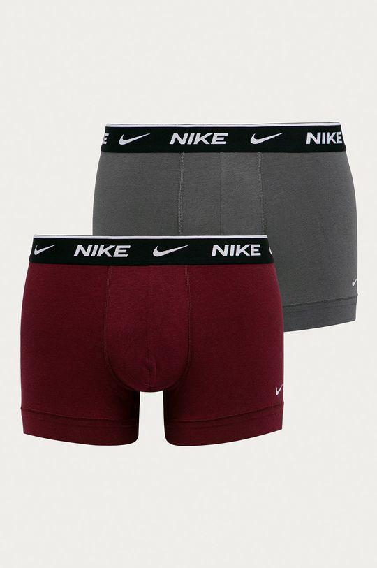 sivá Nike - Boxerky (2-pak) Pánsky