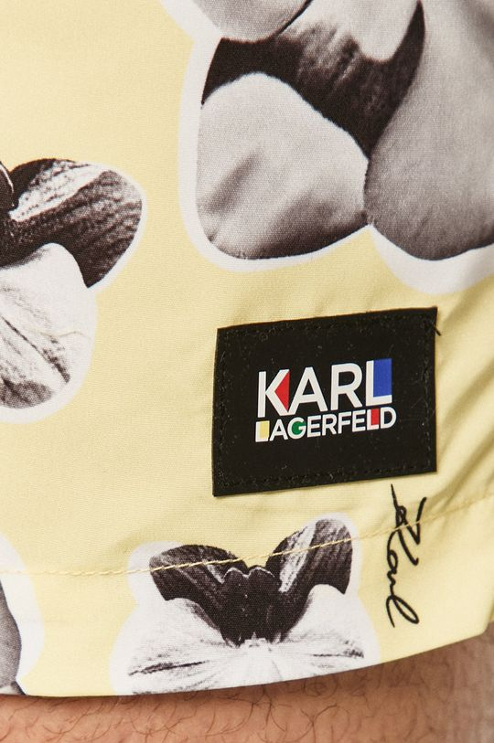 Karl Lagerfeld - Plavkové šortky  Základná látka: 100% Polyester Iné látky: 7% Elastan, 93% Polyamid