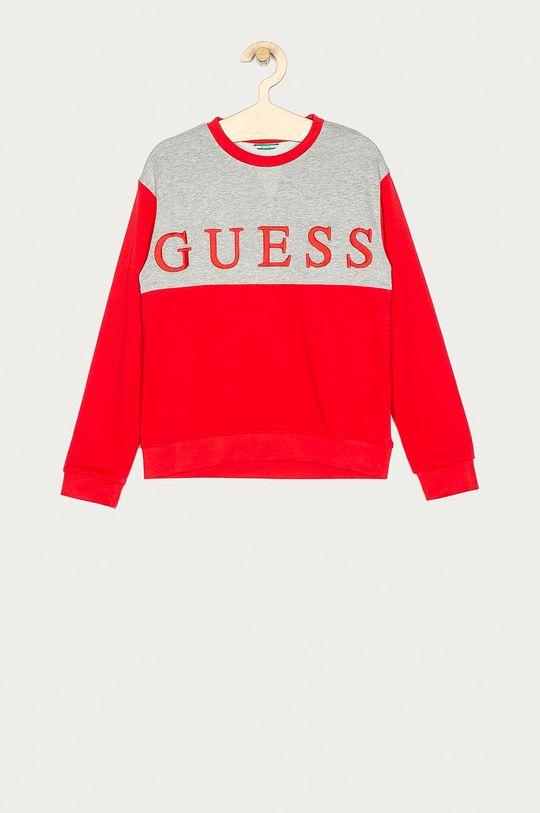 červená Guess Jeans - Detská mikina 116-175 cm Chlapčenský