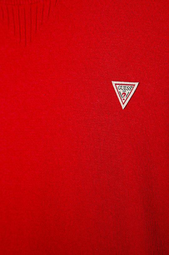 Guess Jeans - Sweter dziecięcy 152-175 cm czerwony