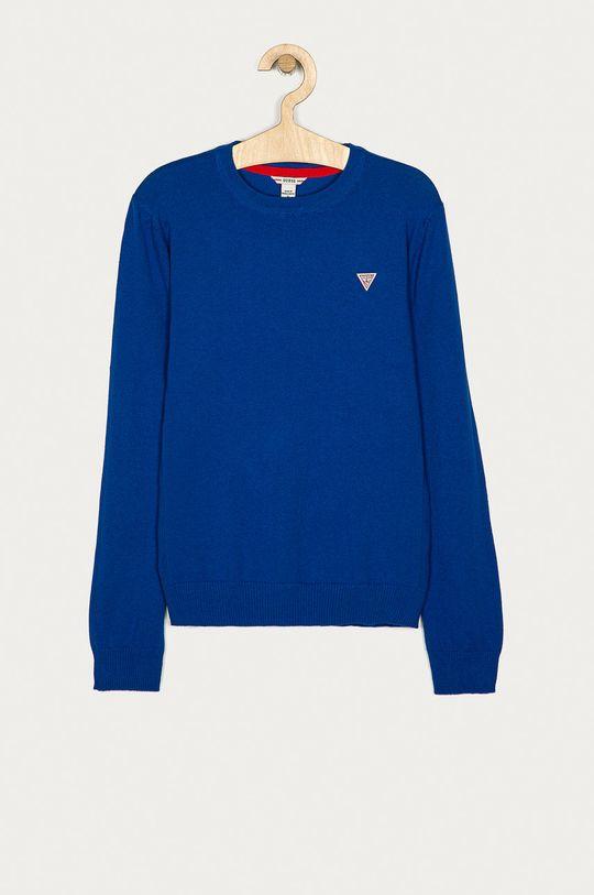 modrá Guess Jeans - Detský sveter 152-175 cm Chlapčenský