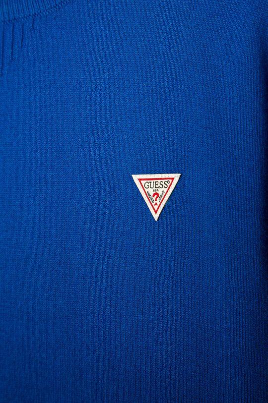 Guess Jeans - Detský sveter 152-175 cm modrá