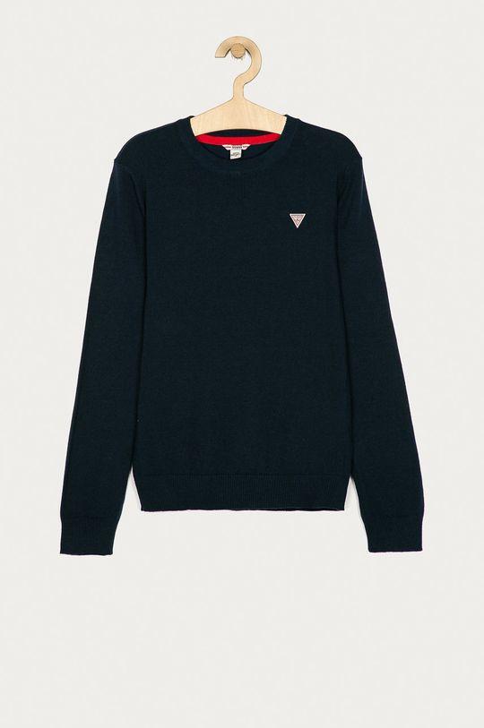 granatowy Guess Jeans - Sweter dziecięcy 152-175 cm Chłopięcy